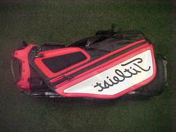 NEW 2020 TITLEIST 14-WAY HYBRID 14 STAND BAG, RED, BLACK, WH
