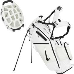 NEW Nike Air Hybrid Golf Caddie Bag Golf Club Bag White 14-D
