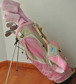 New Ciscobay Hybrid Golf Clubs Ladies Club Pink Set 17 PCS W