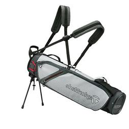 New TaylorMade Golf- 2020 QUIVER CARRY BAG  Gray Lite/White