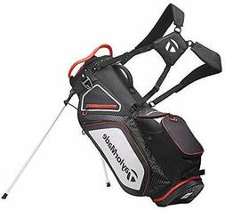 New TaylorMade Golf- 2020 STAND 8.0  Bag Black/White/Red