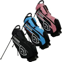 NEW Callaway Golf 2021 Chev Stand Bag 4-way Top - You Pick t