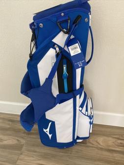 New Mizuno Golf BR-D3 Stand Lightweight Carry Bag Blue/White