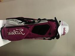 New Golf Titleist Players 4+ Stand bag Pink and White color