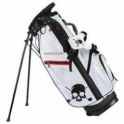 New Volvik Golf- Skull Edition Stand Bag White
