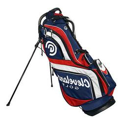 Cleveland Stand Bag Navy/Red/White