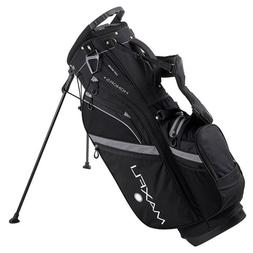 New Maxfli Honors + Plus Golf Stand Bag 14 Way Top Black Rai