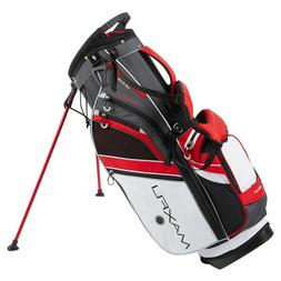 New Maxfli Honors + Plus Golf Stand Bag 14 Way Top White Gre