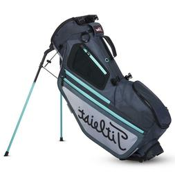 New In Stock Titleist 2019 Hybrid 5 Golf Stand Bag Charcoal/
