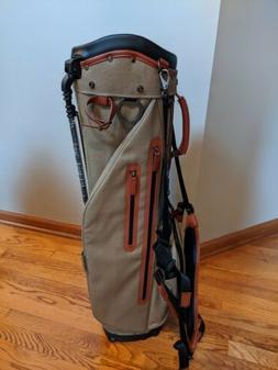 NEW Titleist Linksmaster Members Canvas Golf Stand Carry Bag