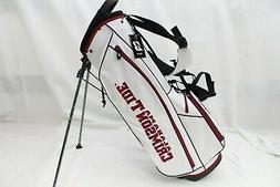 New Bridgestone NCAA Collegiate Stand Golf Bag - University