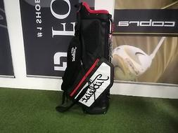 NEW Titleist PLAYERS 5 stand bag Black/White/Red