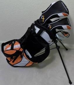 NEW RH Boys Custom Junior Golf Club Set & Stand Bag Kids Chi