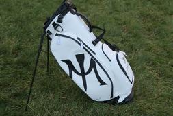 NEW Vessel White Miura Stand 2.0 Golf Bag