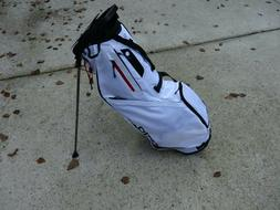 New w/tags Ogio Shadow Fuse 304 White Golf Stand Bag