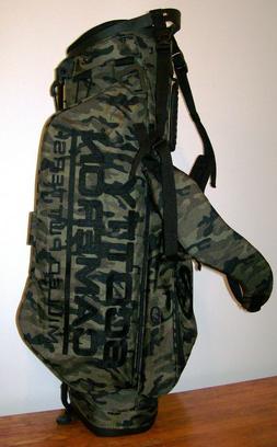 New Scotty Cameron Wanderer Camo Stand Bag Green Black Golf
