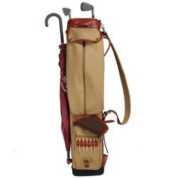 Tourbon Pencil Golf Club Bag Sunday Pack Stand Case Cover Tr
