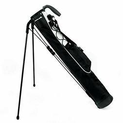 Orlimar Pitch & Putt Golf Lightweight Stand Carry Bag Black