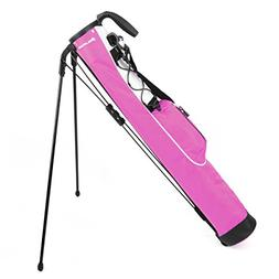 Orlimar Pitch & Putt Golf Lightweight Stand Carry Bag, Rose