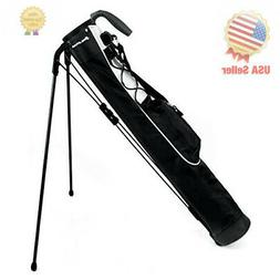 Orlimar Pitch & Putt Golf Lightweight Stand Carry Bag, Black