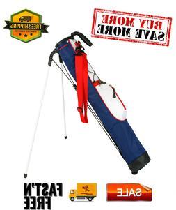 Pitch and Putt Lightweight Stand/Carry Golf Bag,Ultra lightw