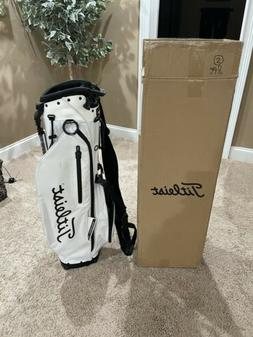 Titleist Players 4 Plus Stand Golf Bag - New 2020 - White/Gr