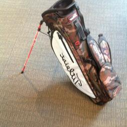 Titleist Players4 Plus Stand Bag Woodland Camo/White-Limited