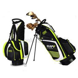 PGM Portable Golf Stand Bag Golf Bag 6 Pockets Waterproof Go