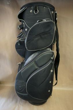 WILSON *PYTHON* Stand/Carry/Cart Golf Bag, 14-Way Top, Black