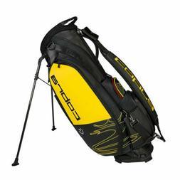 Cobra Speedzone Limited Tour Stand Bag Black/Yellow/Red 2020