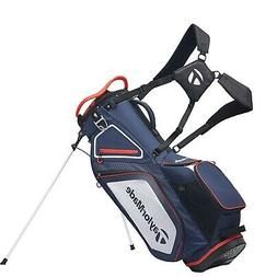 TaylorMade Stand 8.0 Golf Carry Bag 2020 - Navy/White/Red