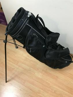 Outward 9 Stand Carry Golf Bag Black Dual Strap NEW NOS