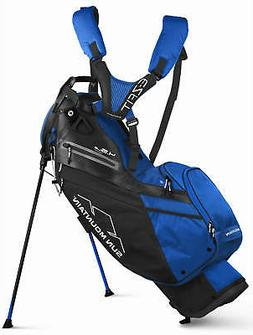 Sun Mountain 4.5 14-Way Stand Bag Golf Carry Bag Black/Cobal