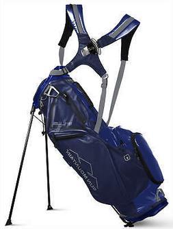 Sun Mountain 4 Plus Stand Bag Golf Carry Bag Navy/Big Sky Bl