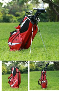 Super Light Golf Stand Bag Easy Carry 8 Pockets With Cooler