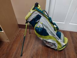 Sun Mountain Superlight 3.5 Dual Strap Stand Bag Yellow/Blue