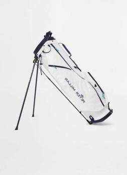 Peter Millar Superlite 2.5 Golf Bag White Navy Lightweight B