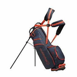 TaylorMade 2019 LiteTech 3.0 Stand Golf Bag Navy/Blood Orang
