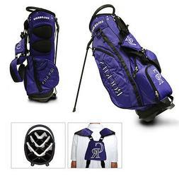 Team Golf MLB Colorado Rockies Fairway Golf Stand Bag