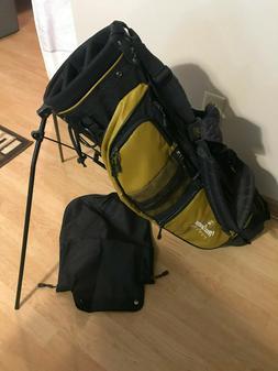 MacGregor Tourney Lightweight Stand Golf Bag Dual Strap Blac