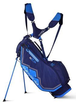 Sun Mountain Women's 4.5 LS Stand Bag-Navy/Cobalt/Silver